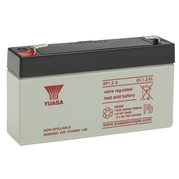 NP1.2-6 battery 6V 1.2Ah Rechargeable Battery