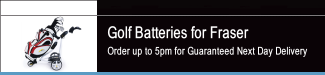 Fraser Golf Batteries