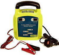 12 Amp 12v Car Battery Charger