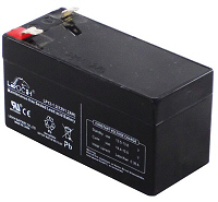 12v 1.2Ah VRLA Sealed Lead Acid Leoch Battery