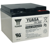 12v 26Ah Battery Rechargeable Deep Cycle