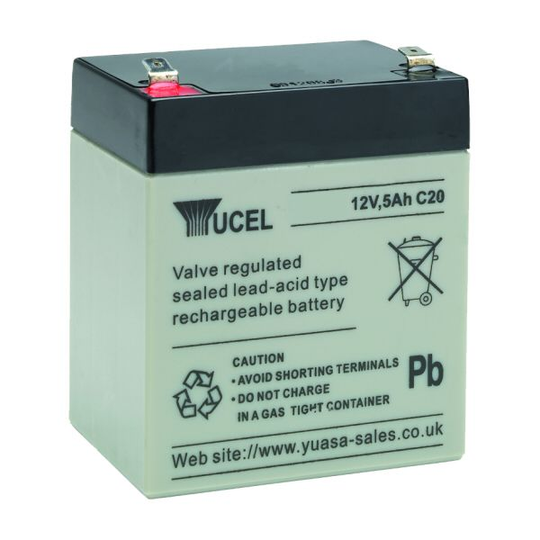 12v 5ah Battery >> 12v 5ah Vrla Rechargeable Sealed Lead Acid Battery
