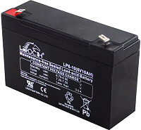 6v 10Ah VRLA Sealed Lead Acid Leoch Battery