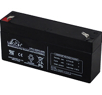 6v 3.2Ah VRLA Sealed Lead Acid Leoch Battery