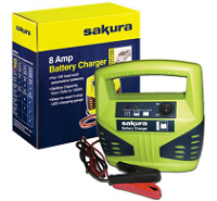 8 Amp 12v Car Battery Charger