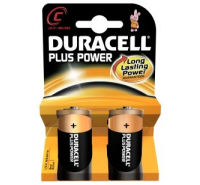 Duracell Plus C MN1400 LR14 Battery (2 pack)