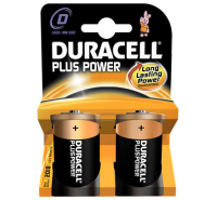 Duracell Plus D MN1300 LR20 Battery (2 pack)