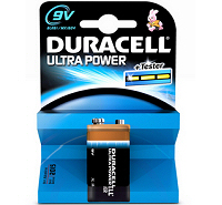Duracell Ultra 9V MX1604 6LR61 Battery