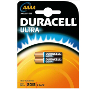 Duracell Ultra AAAA MN2500 E96 LR61 1.5V Battery (2 pack)