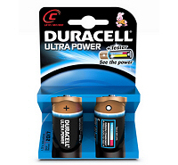 Duracell Ultra C MX1400 LR14 Battery (2 pack)