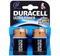 Duracell Ultra D MN1300 LR20 Battery (2 pack)