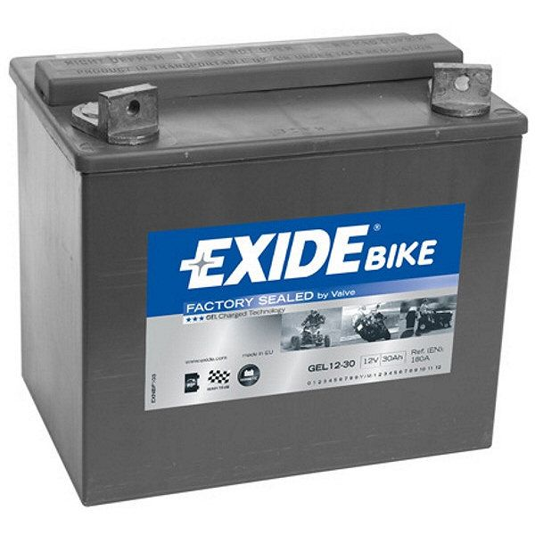 exide gel12 30 motorcycle battery gel. Black Bedroom Furniture Sets. Home Design Ideas