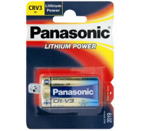 panasonic cr v3 3v lithium battery crv3 cr v3l lb01. Black Bedroom Furniture Sets. Home Design Ideas