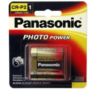 Panasonic CRP2 (223A) Lithium 6 Volt Battery