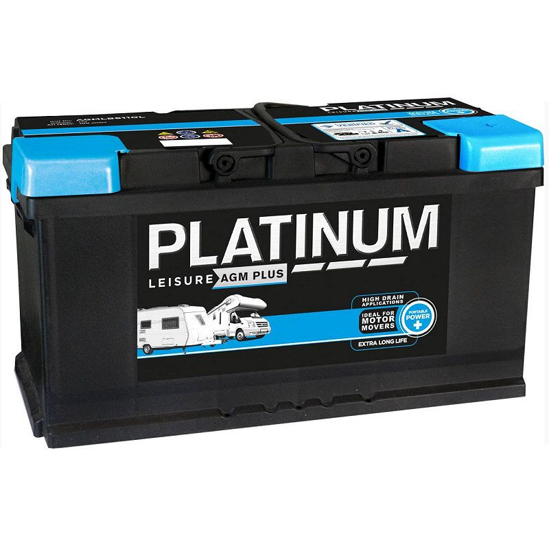 platinum 12v 100ah agm leisure battery ncc approved class a. Black Bedroom Furniture Sets. Home Design Ideas