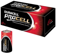 Procell C PC1400 MN1400 LR14 1.5V Batteries (Pack of 10)