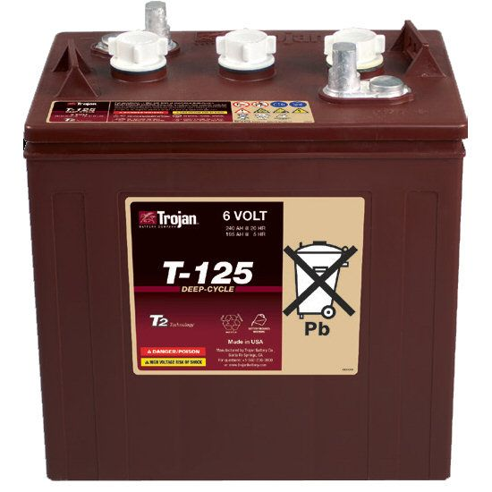 T 125 Trojan Battery Deep Cycle T125