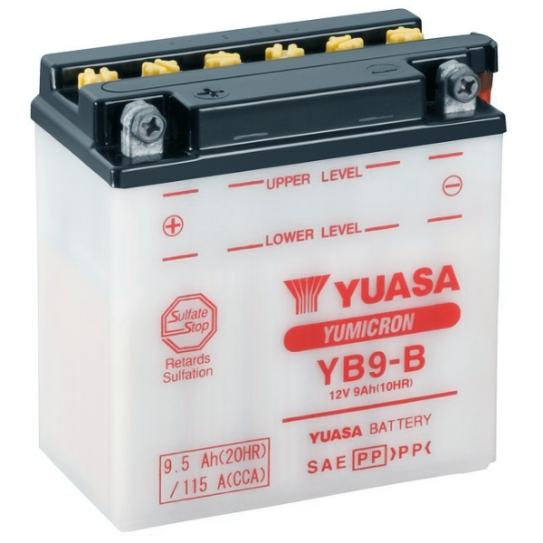 Yuasa Motorcycle Batteries Uk