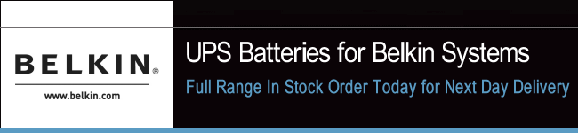 UPS Batteries For Belkin Systems