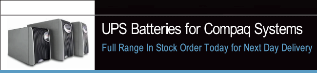 UPS Batteries For Compaq Systems