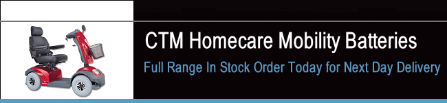 CTM Homecare Mobility Batteries