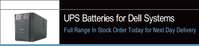 UPS Batteries For Dell Systems