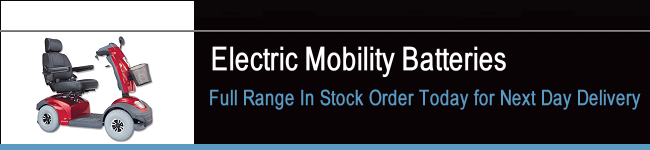 Electric Mobility Scooter Batteries