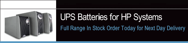 UPS Batteries For HP Systems