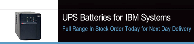 UPS Batteries For IBM Systems