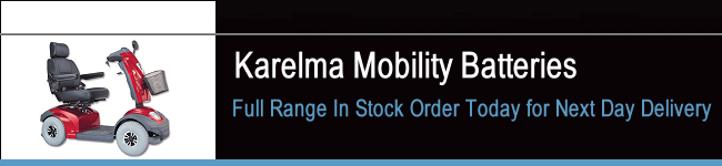 Karelma Mobility Scooter Batteries
