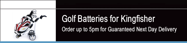 Kingfisher Golf Batteries