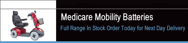 Medicare Mobility Scooter Batteries