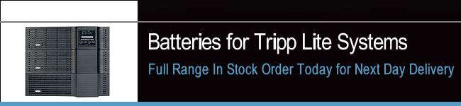 UPS Batteries For Tripp Lite Systems